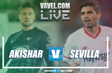 Akhisar vs Sevilla FC en vivo y en directo online en Europa League 2018. | Imagen: Dani Souto (VAVEL)