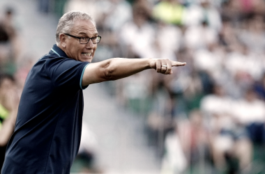 """Miguel Álvarez: """"Tenemos que buscar que el partido de vuelta se le haga muy largo al Elche"""""""