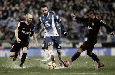 Puntuaciones RCD Espanyol - FC Barcelona