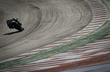 Valentino Rossi durante los test en Misano 2020 / Fuente: motogp.com