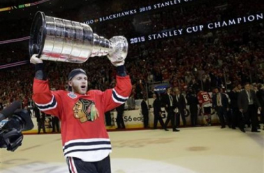 Patrick Kane may be a sports hero, but he is forcing his fans to contemplate his legacy - AP Photo/Nam Y. Huh