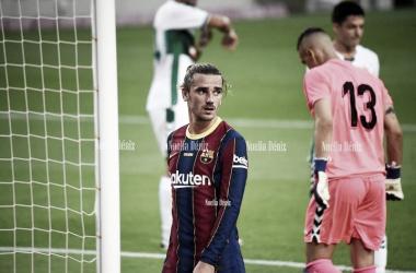 Griezmann en el torneo Gamper esta pretemporada. Foto: Noelia Déniz