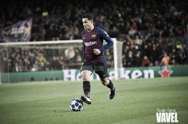 Philippe Coutinho, jugador del FC Barcelona. FOTO: Noelia Déniz