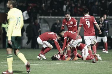 Benfica vence o Paços de Ferreira por 3-1. // Fonte: zerozero.pt