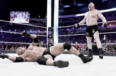 La vista al pasado: Brock Lesnar vs Goldberg, Wrestlemania 33