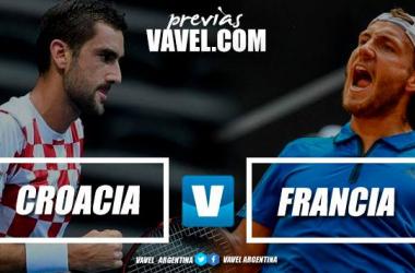 Francia y Croacia se enfrentarán por tercera vez en su historia. | Foto: Montaje VAVEL.