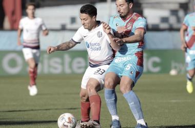 Arsenal 1 (Carabajal)- San Lorenzo 1 (Uvita Fernández)- 1° fecha