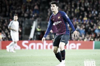 Carles Aleñá, jugador del FC Barcelona. FOTO: Noelia Déniz