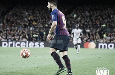 Luis Suárez en Champions League la pasada temporada. Foto: Noelia Déniz, VAVEL