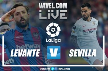 Resumen Levante vs Sevilla (1-1)
