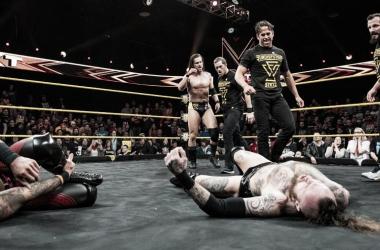 Undisputed Era volviendo a dominar. Fuente: WWE.com