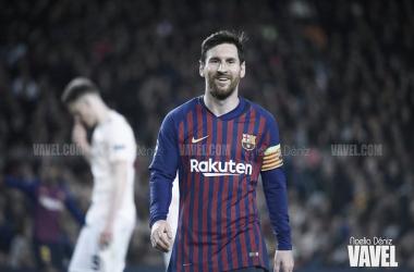 Leo Messi tras el partido ante el Manchester United | Foto: (VAVEL)