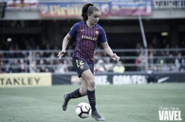 Lieke es una de las piezas fundamentales en el esquema de este FCB Femení | Foto: Noelia Déniz - VAVEL
