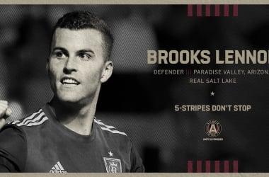 Brooks Lennon refuerza a Atlanta United FC