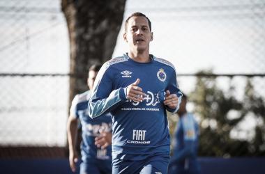 Rodriguinho é uma das principais peças do elenco celeste com 20 jogos e oito gols (Foto: Vinnicius Silva/Cruzeiro)