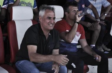 Madelón siendo autocrítico. Foto: Club Atlético Unión.