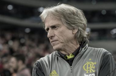 """Jorge Jesus lamenta estreia pelo Flamengo: """"Não saio satisfeito"""""""