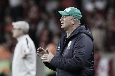 """Felipão reconhece erros do Palmeiras e descarta clima ruim: """"Não montaremos fantasma"""""""