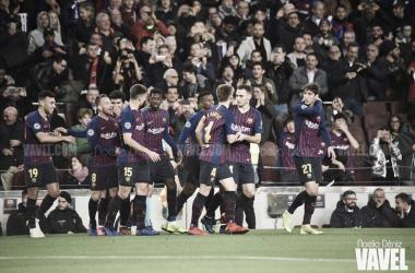 El Barça vence al Levante con la ley del más fuerte