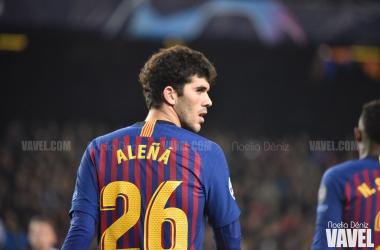 Carles Alená, luciendo el dorsal 26. FOTO: Noelia Déniz
