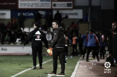 Xavi Bartolo en su área técnica. Foto: La Liga