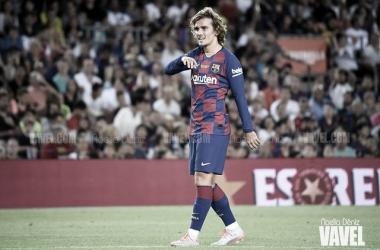 Griezmann lidera la primera victoria del Barça en Liga