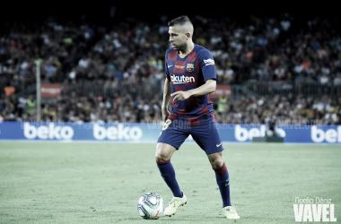 """Jordi Alba: """"El balance es positivo, pero hay que mejorar cosas"""""""