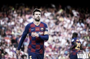 Gerard Piqué, futbolista del FC Barcelona. FOTO: Noelia Déniz