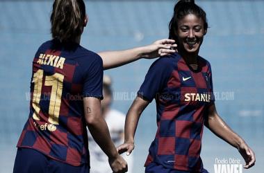 El FC Barcelona gana la Copa Catalunya Femenina tras arrollar al Espanyol