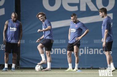 El Barça vuelve a la rutina. FOTO: Noelia Déniz