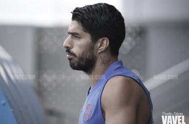 Luis Suárez vuelve a una convocatoria tras lesionarse en San Mamés | Foto: Noelia Déniz (VAVEL)