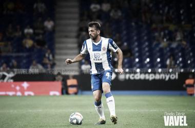 Víctor Sánchez, jugador del RCD Espanyol. FOTO: Noelia Déniz