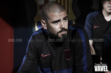 Víctor Valdés, exentrenador del FC Barcelona. FOTO: Noelia Déniz
