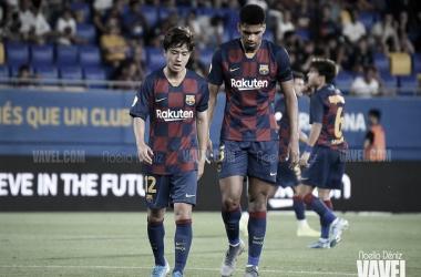 Los convocados del Barça B para el partido ante la AE Prat