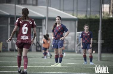 El Barça B no pudo imponerse al Alavés en la quinta jornada de liga. FOTO: Noelia Déniz