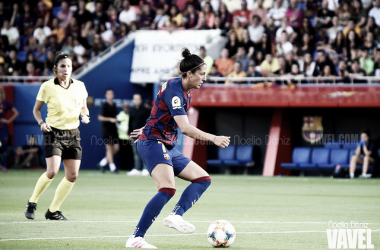 Jenni Hermoso, futbolista del FC Barcelona Femenino. FOTO: Noelia Déniz