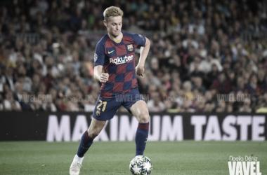 De Jong, ya despunta con el Barça a sus 22 años. FOTO: Noelia Déniz