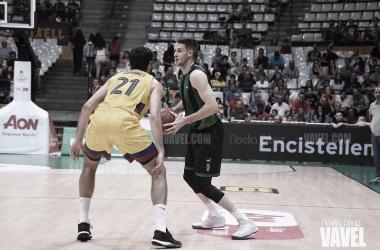 Arostegui el mejor del encuentro y MVP de la jornada 11 (vía: Noelia Déniz | VAVEL)