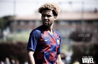 Konrad de la Fuente, jugador del Juvenil A del FC Barcelona. FOTO: Noelia Déniz