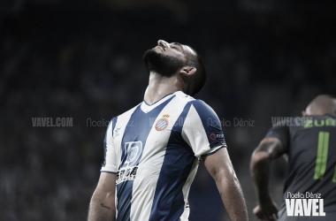 Maxi Vargas ante el Ferencvárosi húngaro | Foto: Noelia Déniz (VAVEL)