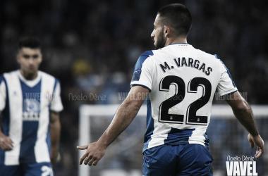 Matías Vargas, jugador del RCD Espanyol. FOTO: Noelia Déniz