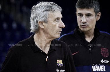 Svetislav Pešić, entrenador del Barça. FOTO: Noelia Déniz