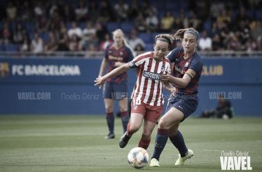 Imágen del Barça - Atlético de esta temporada (6-1) | Foto: Noelia Déniz (VAVEL)