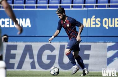 nizÁlvaro Sanz, jugador del Juvenil A del FC Barcelona. FOTO: Noelia Déniz