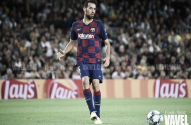 Sergio Busquets, jugador del FC Barcelona. FOTO; Noelia Déniz