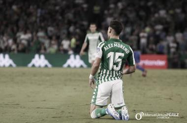 """Álex Moreno: """"Mi objetivo es ganar un título en el Betis"""""""
