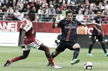 Paris Saint-Germain empata com Reims, mas segue líder da Ligue 1