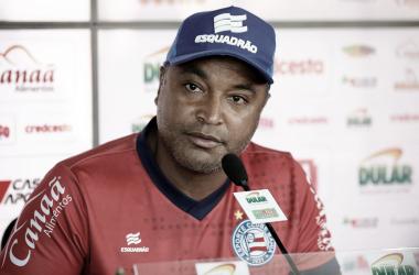 """Roger diz que faltou confiança ao Bahia contra o Santos: """"Não merecemos empatar"""""""