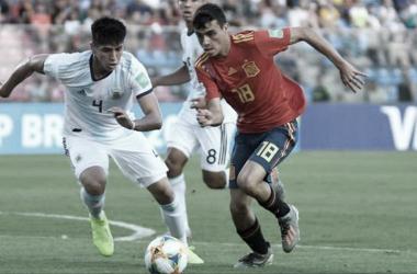 Pedri con la selección FOTO: Selección Española