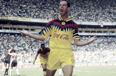 Luis Roberto Alves es el máximo anotador del América en el Estadio Jalisco.